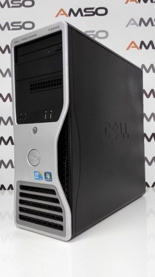 Dell T3500 QUAD W3520 8GB 500GB DVD Windows 7 Professional