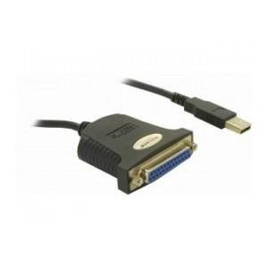 Delock ADAPTER USB -> LPT 25 PIN (F) (PARALLEL) 0,8M