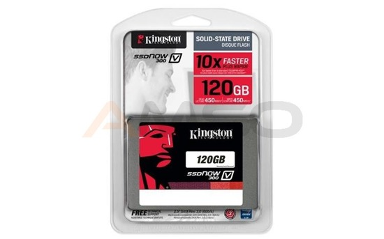 "Dysk SSD Kingston V300 120GB 2.5"" SATA3 (450/450) 7mm"