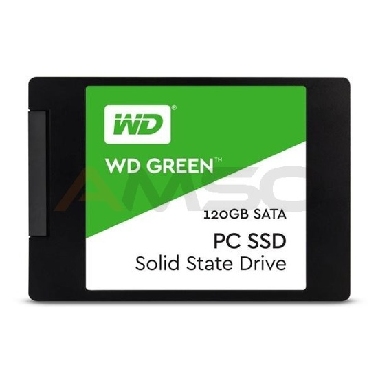 "Dysk SSD WD Green 120GB 2,5"" (540/430 MB/s) WDS120G1G0A"