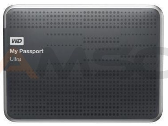 Dysk WD My Passport 2TB Ultra silver