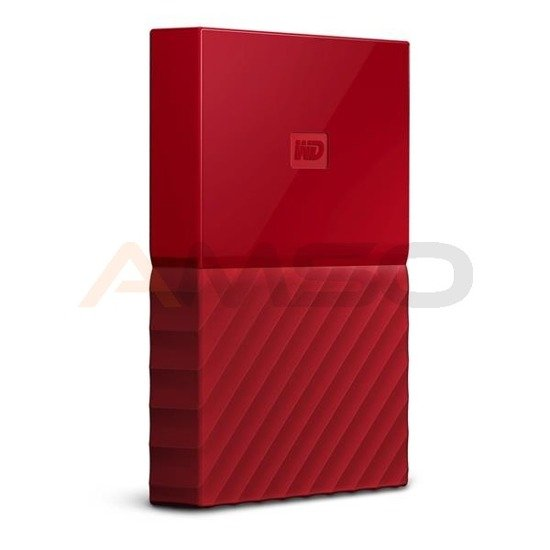 Dysk WD My Passport 3TB USB 3.0 red