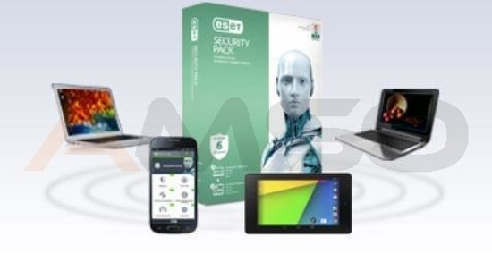 ESET Security Pack 3 user, 24 m-ce, upg . BOX