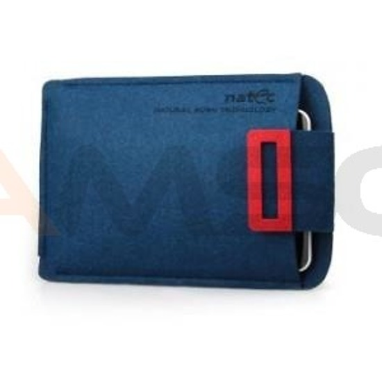 "ETUI TABLET NATEC SHEEP 10"" NAVY-RED"
