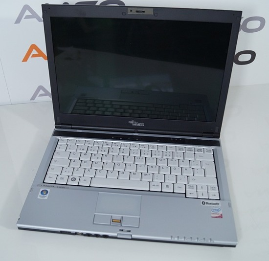 "Fujitsu S6420 C2D P8600 2,4 4GB 160GB  13"" Windows 7 Home PL"