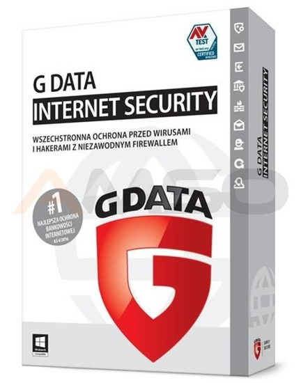 G Data Internet Security 2PC 1ROK BOX