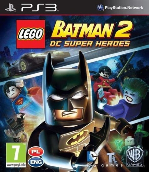 GRA LEGO Batman 2: DC Super Heroes (PS3)