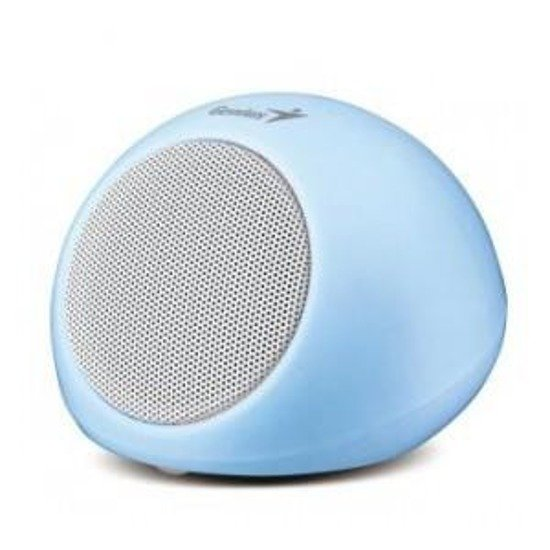 Głośnik Genius SP-i170 Mini Portable Speaker, Blue, 2W