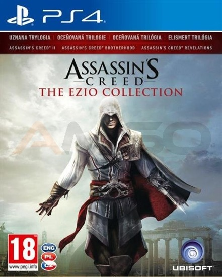 Gra Assassins Creed THE EZIO COLLECTION (PS4)