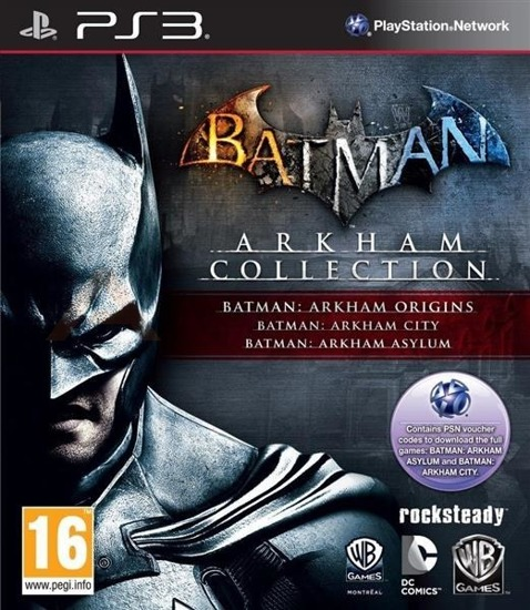 Gra Batman Arkham Collection (PS3)