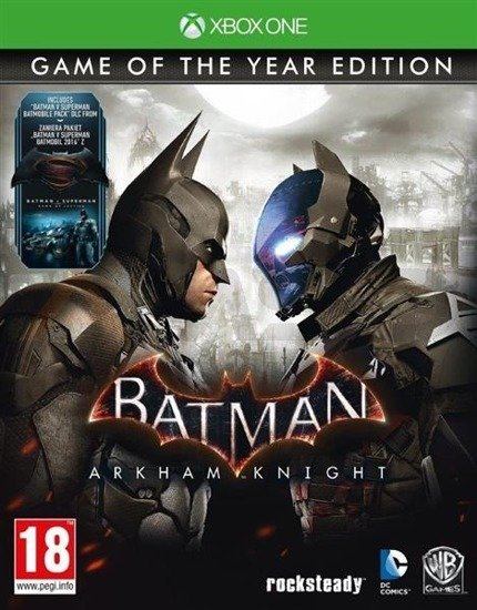 Gra Batman: Arkham Knight Game of The Year Edition (XBOX ONE)