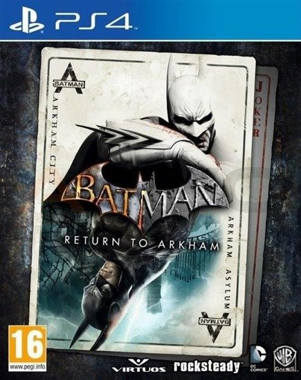 Gra Batman Return to Arkham (PS4)