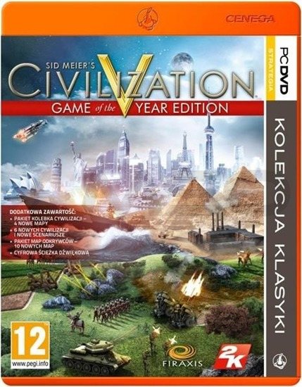 Gra CIVILIZATION V GAME OF THE YEAR EDITION PKK (PC)