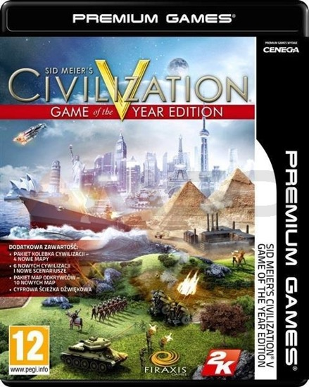 Gra Civilization V GOTY NPG (PC)