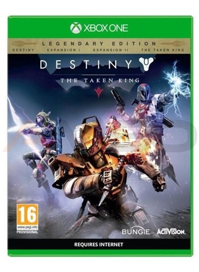 Gra DESTINY: The Taken King Legendary Edition (XBOX One)