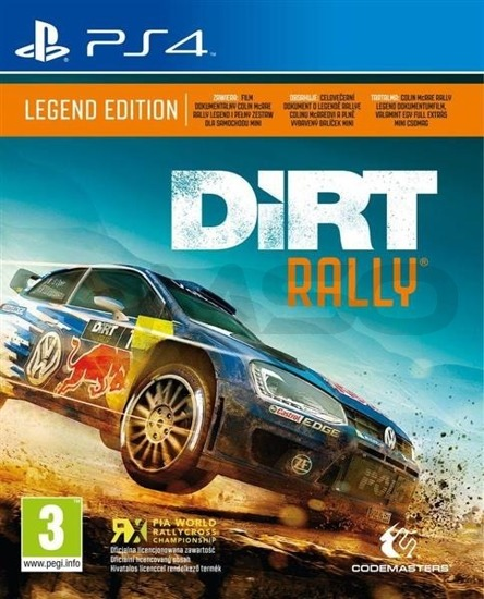 Gra DiRT Rally: Legend Edition (PS4)
