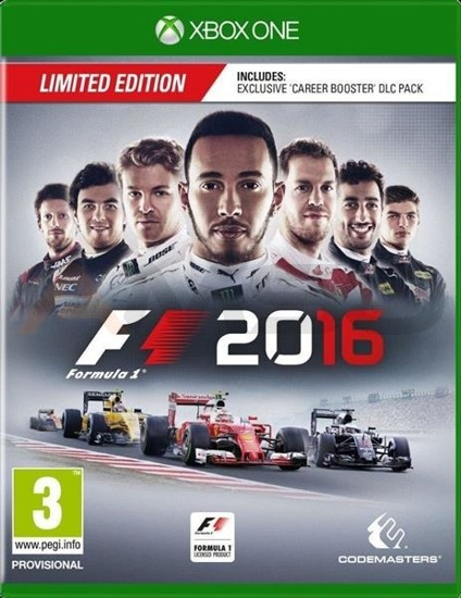 Gra F1 2016 Limited Edition (XBOX ONE)