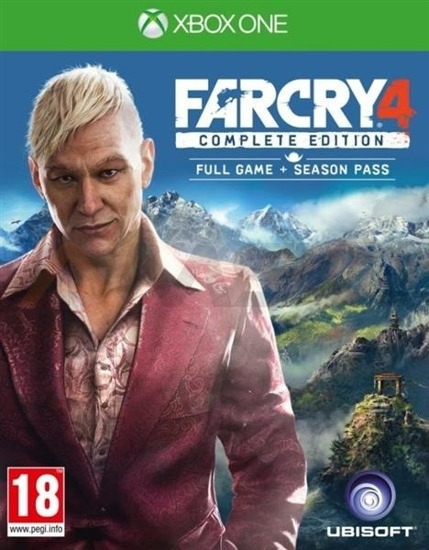 Gra FAR CRY 4 COMPLETE  (XBOX One)