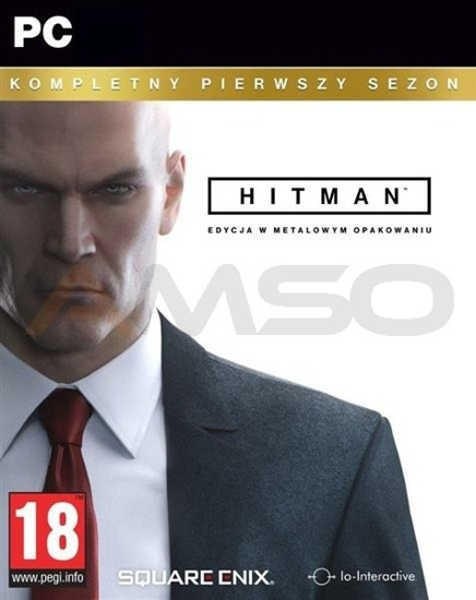 Gra Hitman The Complete First Season (Kompletny Pierwszy Sezon) Steelbook (PC)