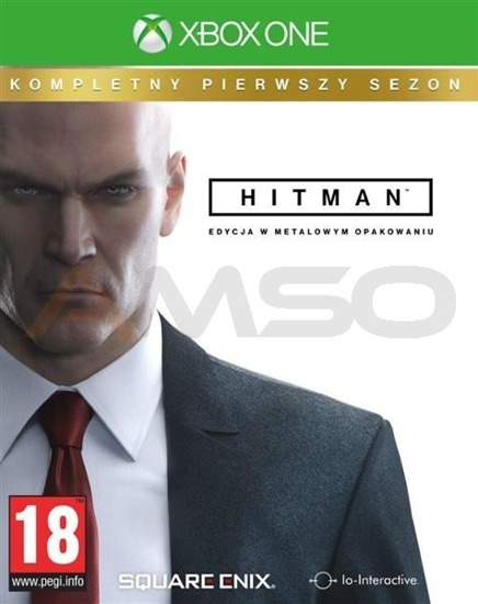 Gra Hitman The Complete First Season (Kompletny Pierwszy Sezon) Steelbook (XBOX ONE)