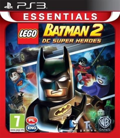 Gra LEGO BATMAN 2: DC SUPER HEROES ESSENTIALS (PS3)