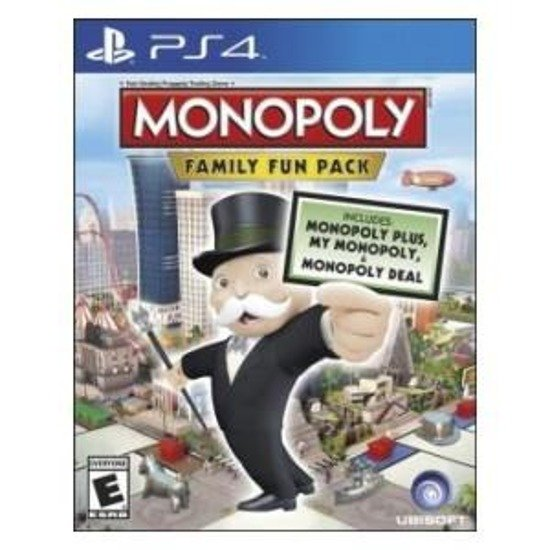 Gra MONOPOLY FAMILY FUN PACK (PS4)