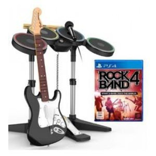 Gra Mad Catz Rock Band 4 Band in a Box™ (PS4) GITARA + PERKUSJA + MIKROFON