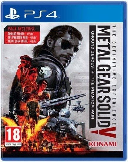 Gra Metal Gear Solid V: The Definitive Experince (PS4)