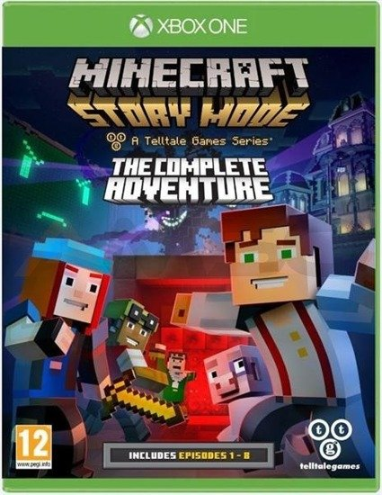 Gra Minecraft Story Mode The Complete Adventure (XBOX ONE)