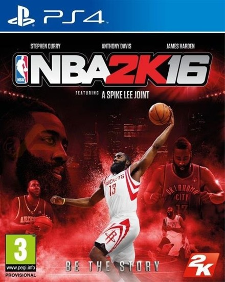Gra NBA 2K16 (PS4)