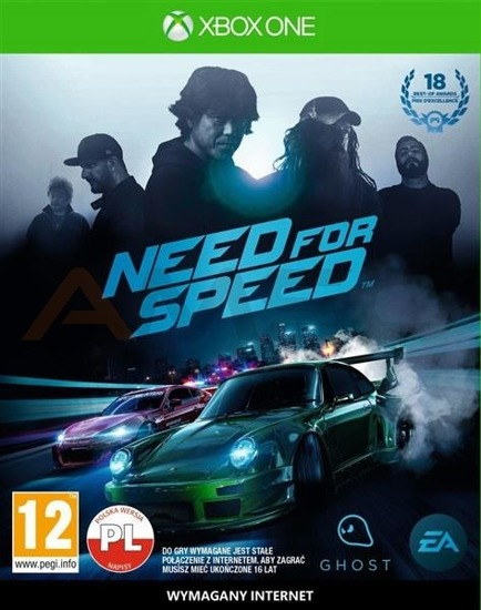Gra Need For Speed (XBOX One)