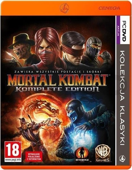 Gra PKK: Mortal Kombat 9: Komplete Edition (PC)
