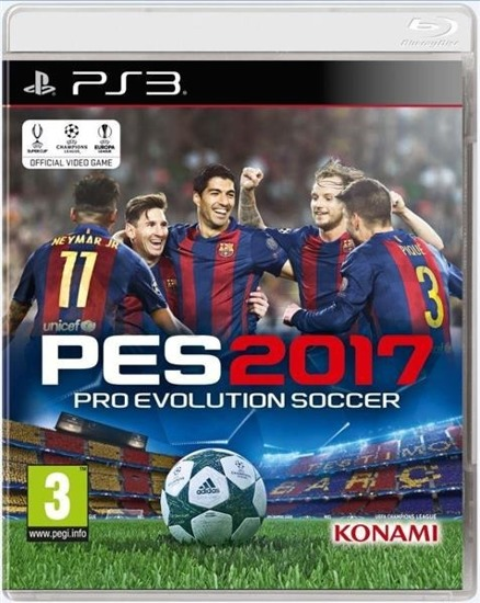 Gra Pro Evolution Soccer 2017 (PS3)