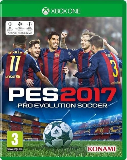 Gra Pro Evolution Soccer 2017 (XBOX ONE)