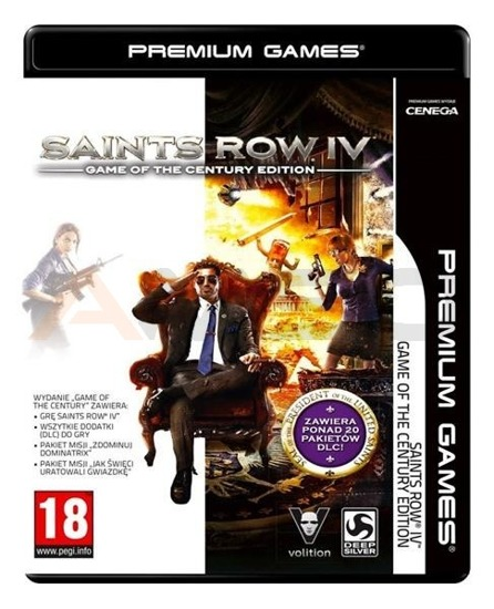 Gra SAINTS ROW IV GAME OF THE CENTURY EDITION NPG (PC)