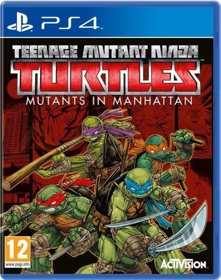 Gra TEENAGE MUTANT NINJA TURTLES: MUTANTS IN MANHATTAN (PS4)