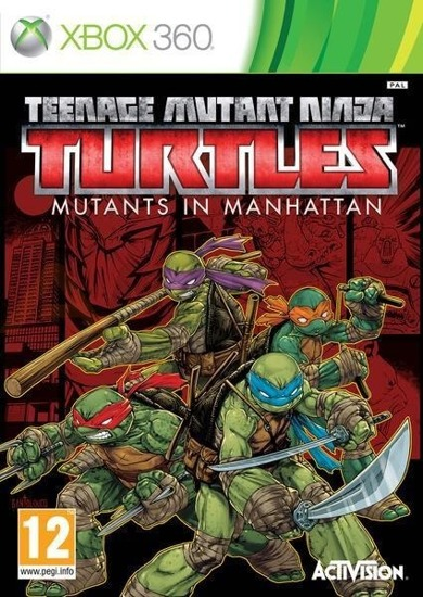 Gra TEENAGE MUTANT NINJA TURTLES: MUTANTS IN MANHATTAN (XBOX 360)