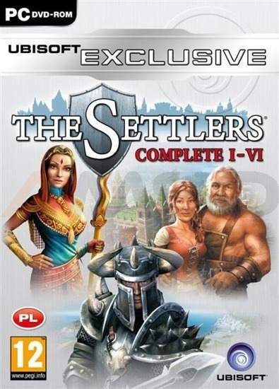 Gra THE SETTLERS 1-6 COMPLETE EXCLUSIVE (PC)