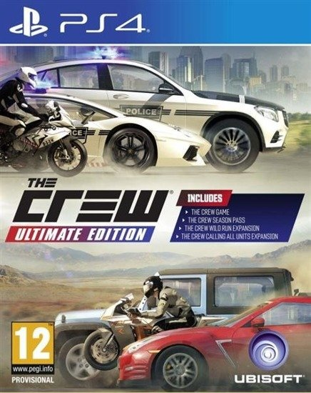 Gra The Crew Ultimate Edition PCSH (PS4)