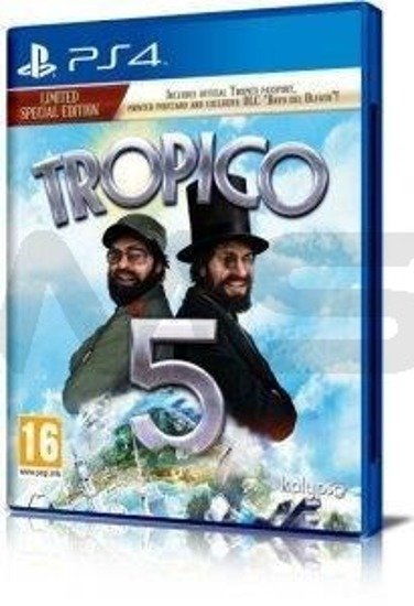 Gra Tropico 5 Limited Edition (PS4)
