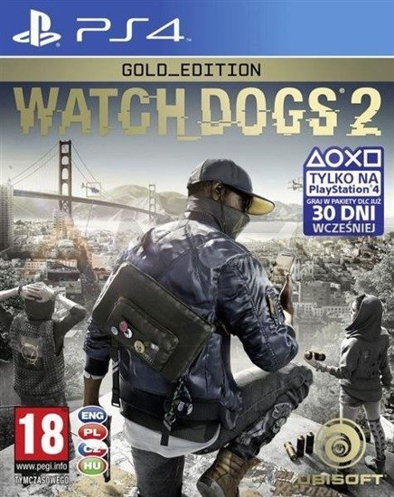 Gra WATCH DOGS 2 GOLD EDITION (PS4)