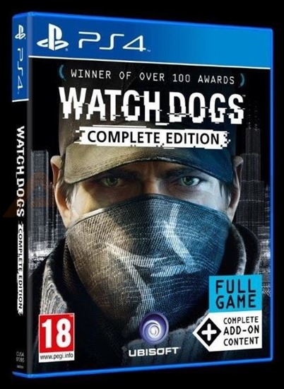 Gra WATCH DOGS COMPLETE (PS4)