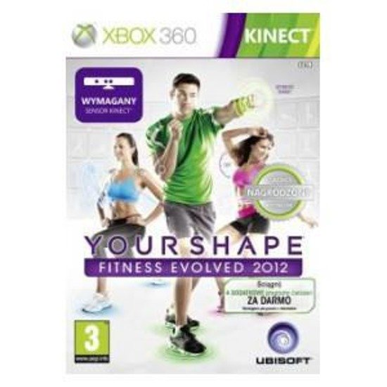 Gra Your Shape Fitness Evolved 2012 DLC Classic XBOX 360 Kinect