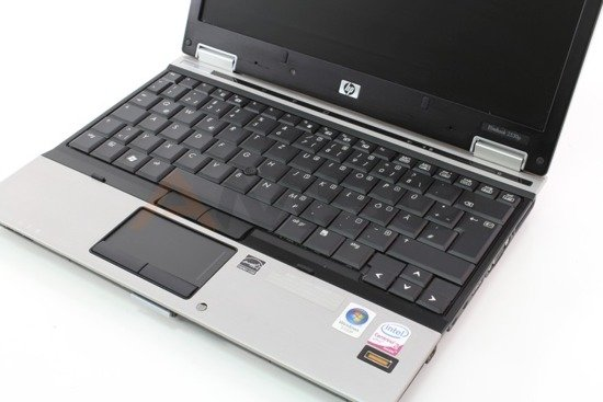 HP 2530p L9400 4GB 120GB Kamerka Windows 7 Home Premium L16