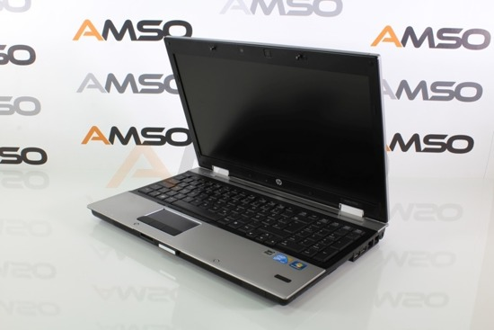 HP 8540p i5-540M 8GB 120GB SSD NVS 5100M 1366x768 + Mysz SM-443 + Torba Windows 10 Professional