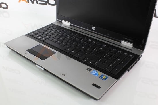 HP 8540p i5-540M 8GB 120GB SSD NVS 5100M 1366x768 Windows 10 Professional