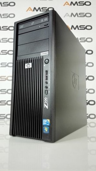 HP Z200 XEON X3470 QUAD CORE 2.93GHz 8GB 120GB SSD DVD-RW NVIDIA QUADRO NVS WINDOWS 8.1