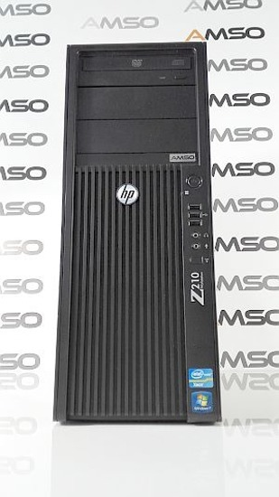 HP Z210 XEON E3-1270 8GB 250GB DVD NVS300 Windows 7 Professional