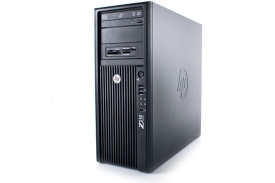 HP Z210 XEON i7-2600 8GB 300GB DVD Quadro 2000 Windows 10 Professional PL