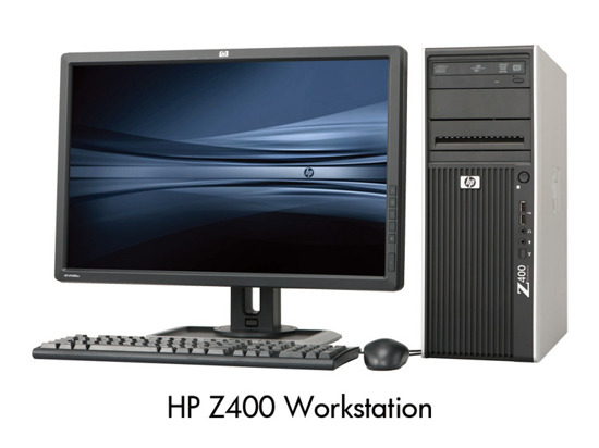 HP Z400 QUAD W3520 /8GB/250 Quadro Win 7 PRO
